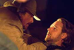 Christian Bale and Russell Crowe in Mangold's 3:10 to Yuma