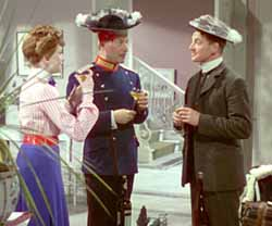 Kerr, Anton Walbrook, and Livesey in Colonel Blimp