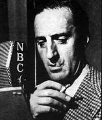 Rathbone on the radio