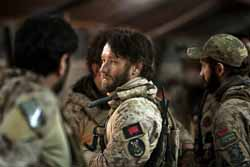 Chris Pratt (center) in Zero Dark Thirty