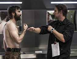 Sharlto Copley and Neil Blomkamp