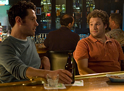 Paul Rudd and Seth Rogen in Knocked Up
