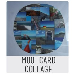 Moo card collage