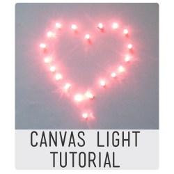 Canvas light tutorial