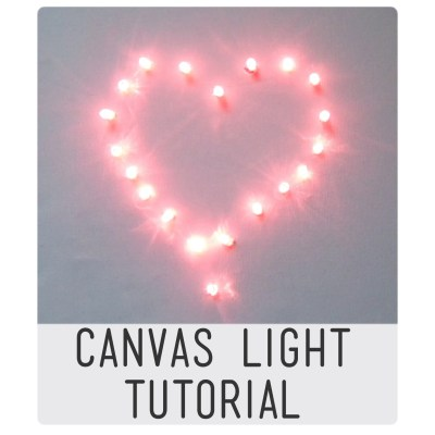 Canvas light tutorial