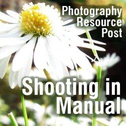 Shooting in manual