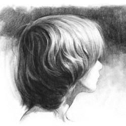 How to draw hair by Stan Prokopenko