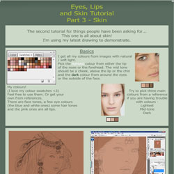 Tutorial - skin, faces