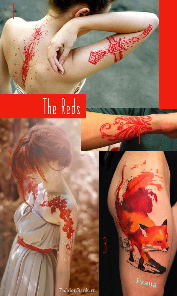 Red Tattoo inspiration