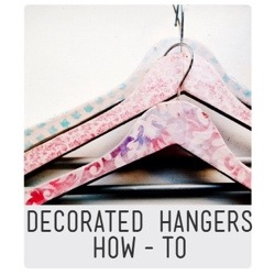 Decorated Hanger Tutorial