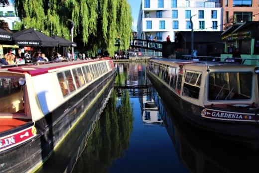 Camden Market and Regent's Canal