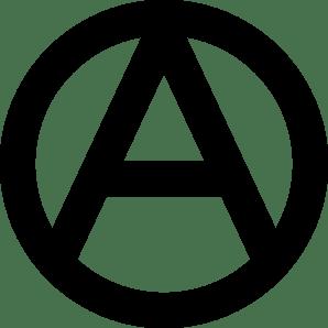 Left Wing Anarchist Logo