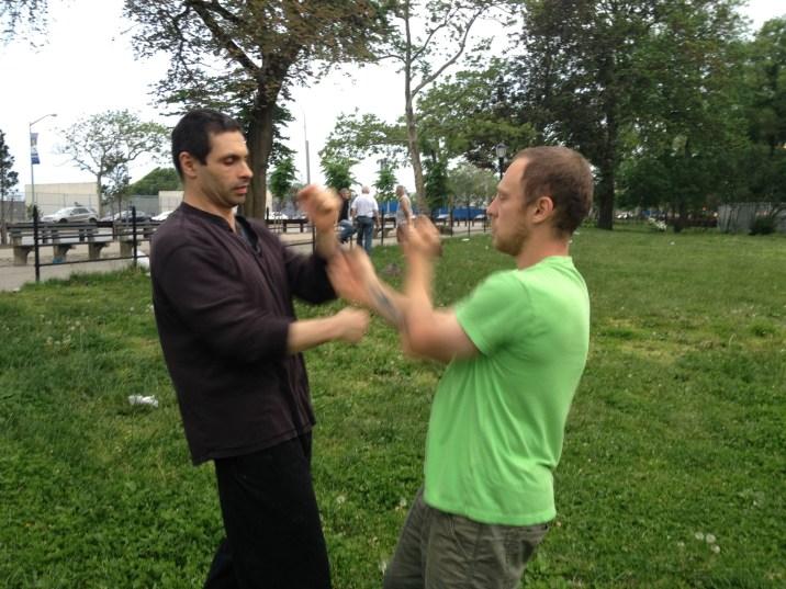 Wing Chun Training 2014 05 27_12