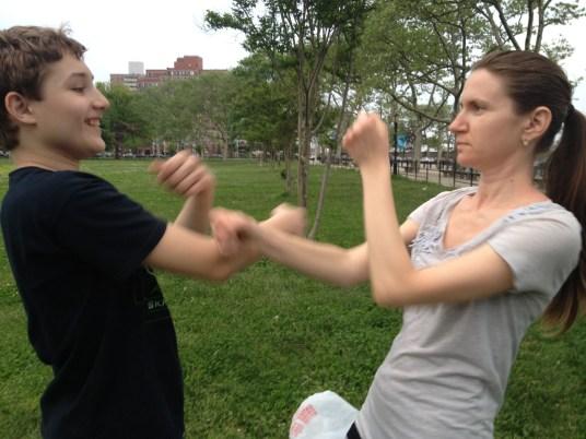 Wing Chun Training 2014 05 27_21