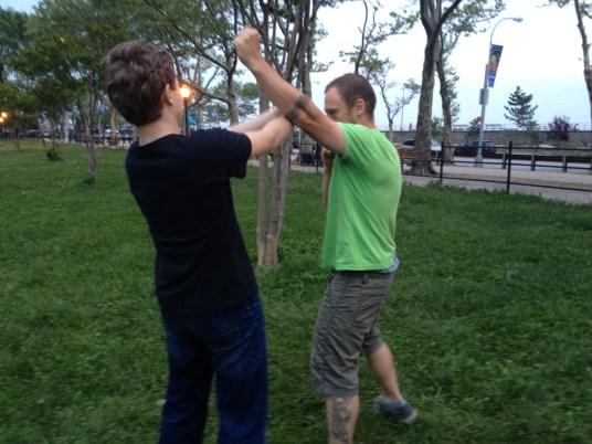 Wing Chun Training 2014 05 27_44