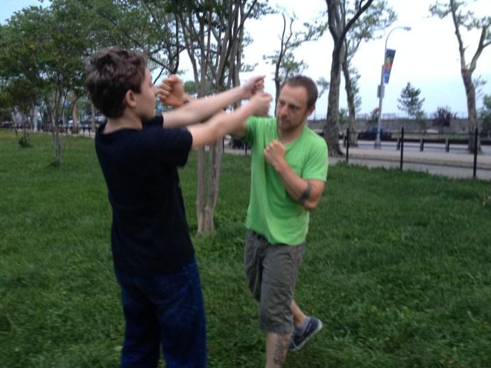Wing Chun Training 2014 05 27_45