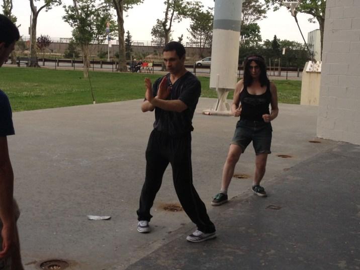 Wing Chun Training 2014 06 03_02