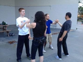 Wing Chun Training 2014 06 10_05