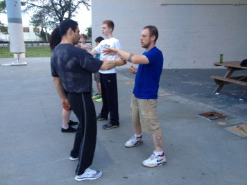 Wing Chun Training 2014 06 10_09