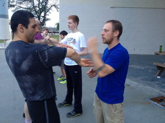 Wing Chun Training 2014 06 10_11