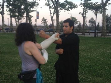 Wing Chun Training 2014 06 17_07