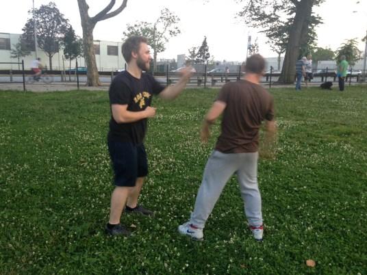 Wing Chun Training 2014 06 17_10