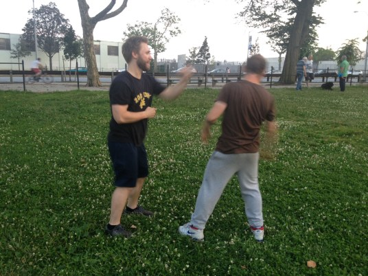 Wing Chun Training 2014 06 17_10