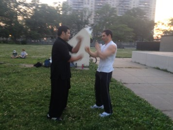 Wing Chun Training 2014 06 17_15