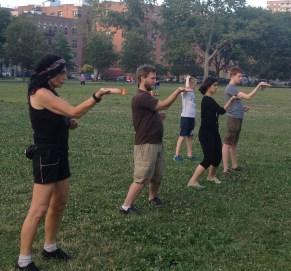 Wing Chun Training 2014 07 08_21