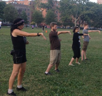 Wing Chun Training 2014 07 08_23