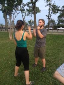 Wing Chun Training 2014 07 10_01