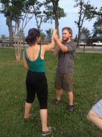 Wing Chun Training 2014 07 10_02