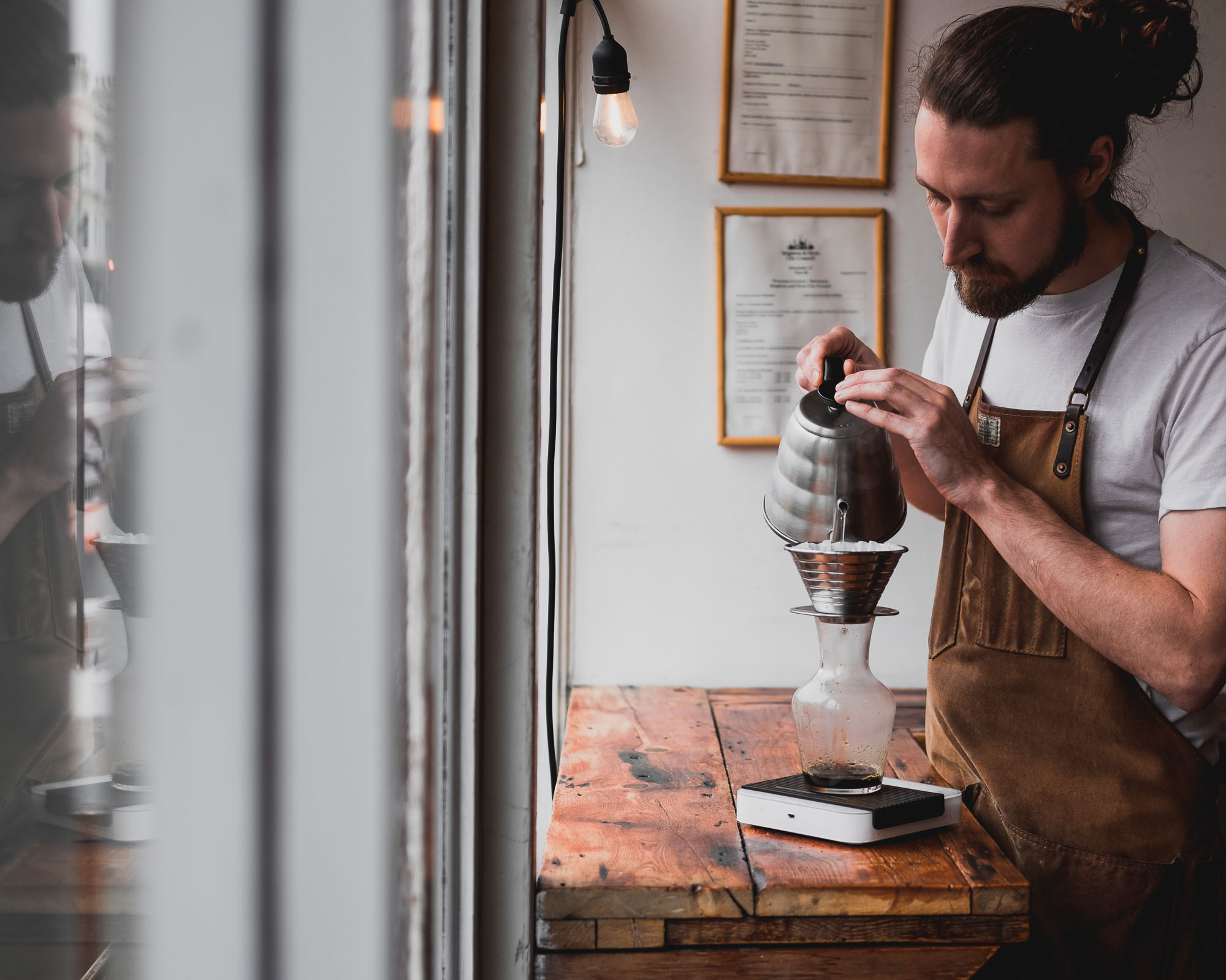 chris, campbell, brewed, brighton, roasters, coffee, roasting, horsham, coffee, roaster, bond, street, st, lewes, road, coffee, at, 33, brighton, hove, speciality, coffee, interview, barista, profile, interview, question, and, answer, q&a, artisan, local, independent,