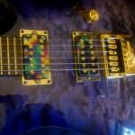 Guitar Reassembled With Evertune Bridge
