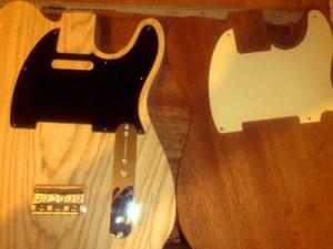 Brighton Guitar Workshop - A Tele Is Born