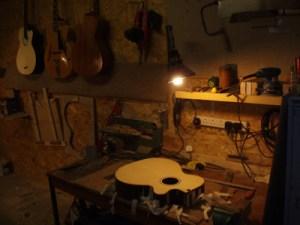 Brighton Guitar Workshop Work Bench