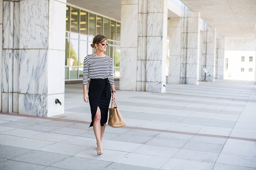 Pencil Skirt Style From Day To Night • BrightonTheDay