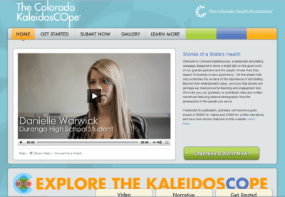 Colorado Kaleidoscope homepage