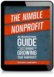 The Nimble Nonprofit book