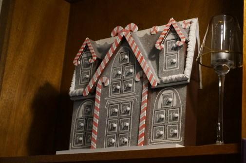 Niko's Advent calendar, stuffed with mini marshmallows.