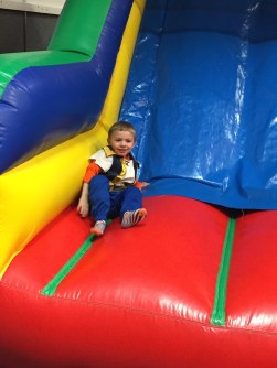 This bounce gym was a huge hit.