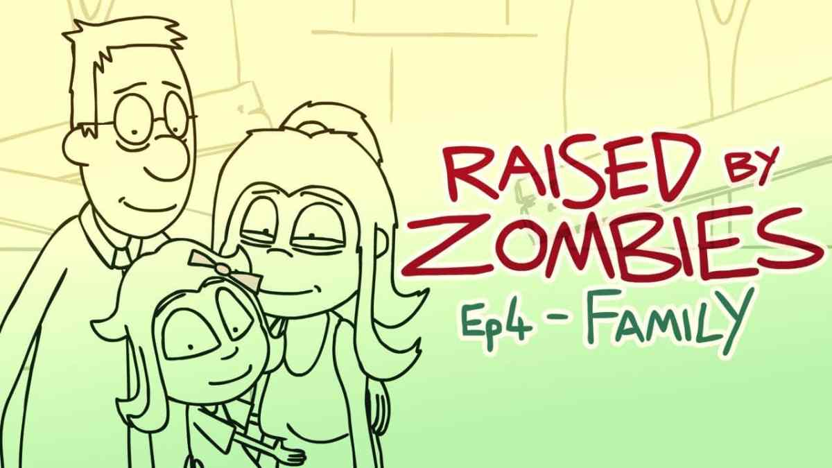 Raised by Zombies is an Adorable Indie Animation Series