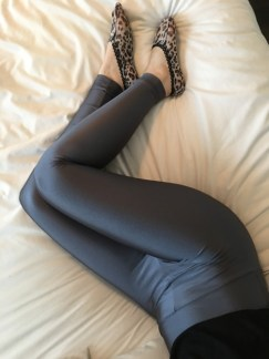 Grey American Apparel Leggings