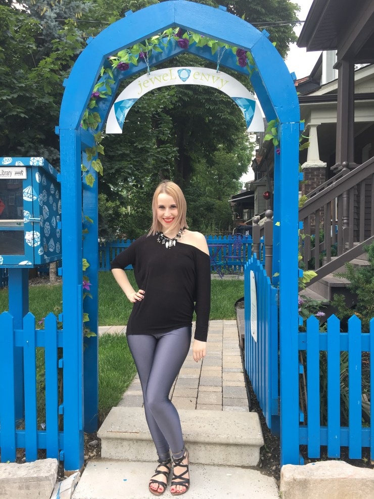 Blue Archway - Roncesvalles