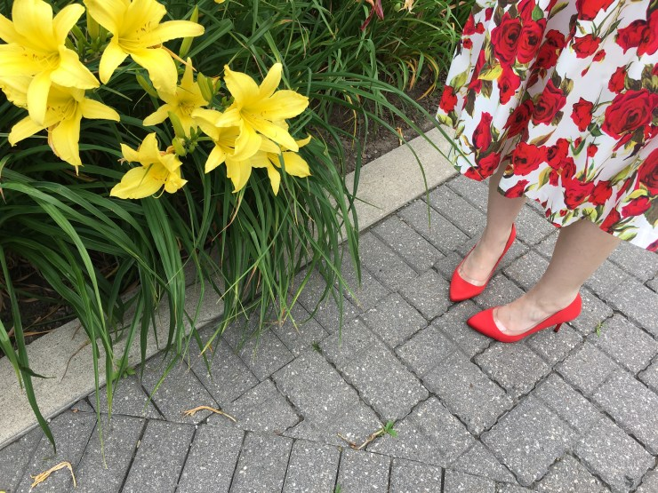 Red Shoes - Charlotte Olympia
