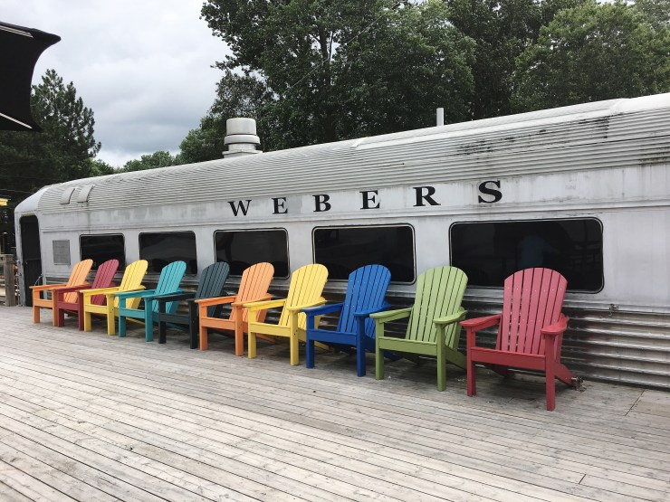 Rainbow Muskoka Chairs