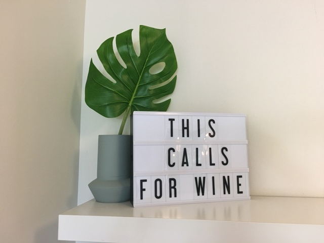 This Calls For Wine