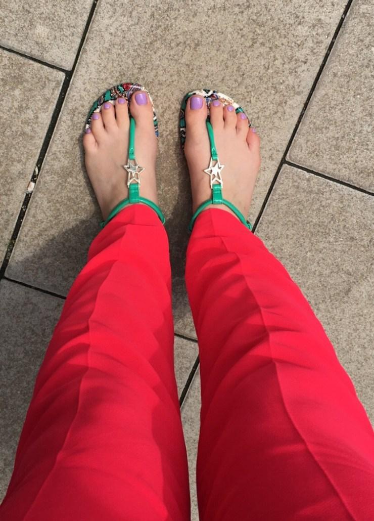 Turquoise Sandals - Sam Edelman