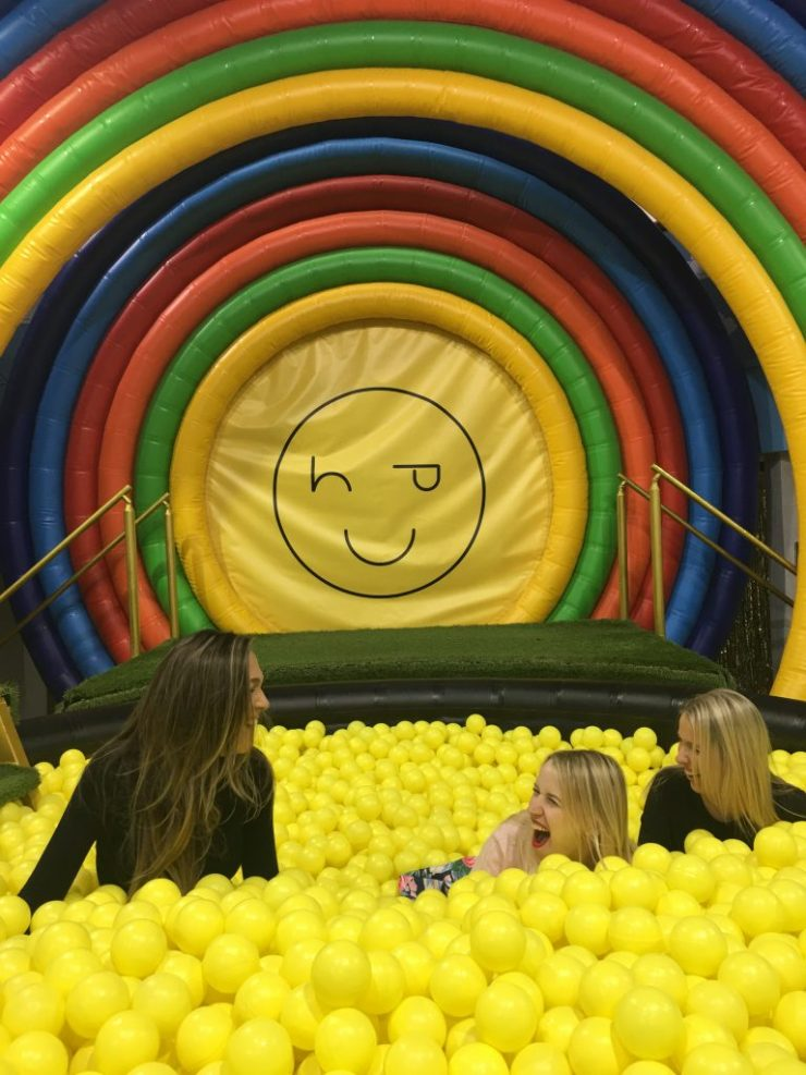 Happy Place ball pit Toronto
