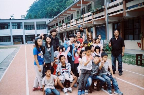 Volunteers! Photo courtesy of James Teng
